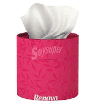 Renova Pañuelos faciales rosa 3 capas 40 ud