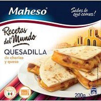 Maheso Quesadilla de chorizo Bandeja 200 g