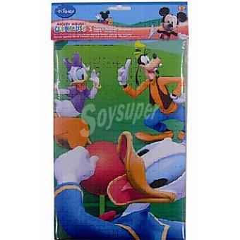 DISNEY mantel plástico Mickey Colours 120x180 cm  bolsa 1 unidad