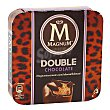 Helado de chocolate con una capa de chocolate recubierto de chocolate con leche Pack 3 x 88 ml  Magnum Frigo