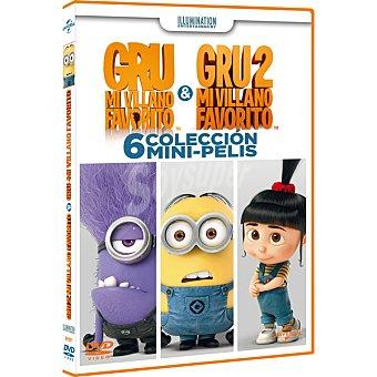 Gru: Colección 6 Mini Pelis en DVD