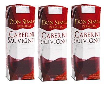 Don Simón Vino Tinto Cabernet Sauvignon Pack 3x25 cl