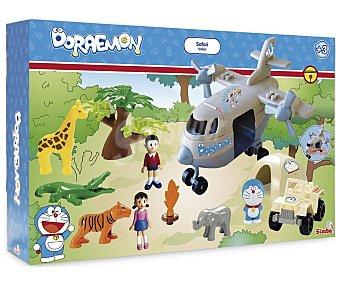 Simba Playset de Doraemon Explorador con Figuras y Pegatinas 1 Unidad