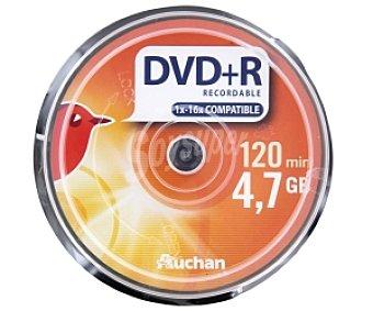 AUCHAN DVD+R 16X 4,7GN Pack 10