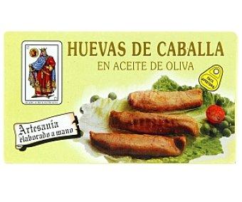 EL REY DE OROS Huevas de caballa en aceite de oliva 90 Gramos