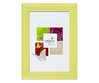 IMAGINE Portafotos de color verde anis modelo Fiesta, para fotografias de tamaño 13x18 1 Unidad