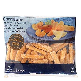 Carrefour Tiras de Potón del Pacifico Rebozadas 400 g