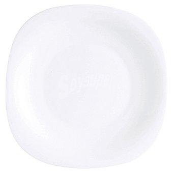 LUMINARC  Carine Plato Llano en color blanco 26 cm 1 Unidad