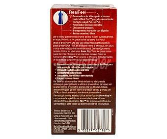 Durex Preservativos Real Feel Sin Latex 24 ud