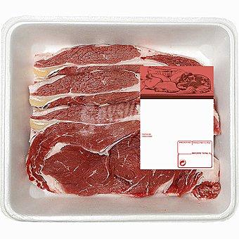 Añojo lomo en filetes formato ahorro peso aproximado Bandeja 900 g