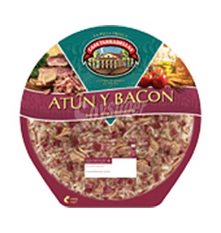Casa Tarradellas Pizza atun y bacon 450 G