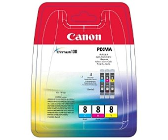 Canon Pack 3 cartuchos Color Pack 3