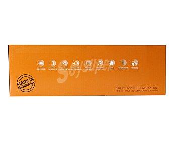 GIGASET A120 Telefono inalámbrico trío Dect, identificador de llamada, agenda para 50 números, lista de las últimas llamadas perdidas con hora y fecha