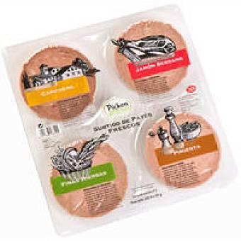 La Cuina Tabla de paté tradicional Pack 4x55 g