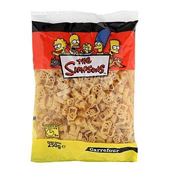"""Carrefour Pasta infantil """"los Simpsons"""" 250 g"""