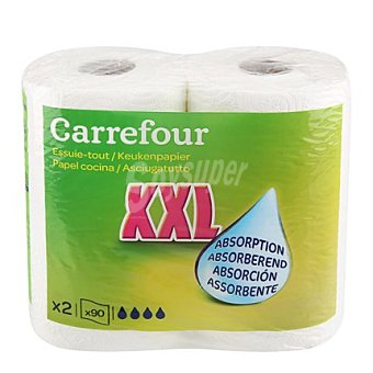 Carrefour Papel cocina XXL 2 unidades