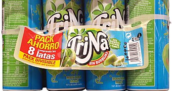 Trina Refresco de manzana sin gas Pack 8x33cl