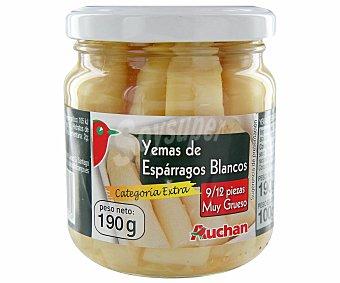 Auchan Yemas de espárrago grueso 9/12 piezas 100 gramos peso escurrido