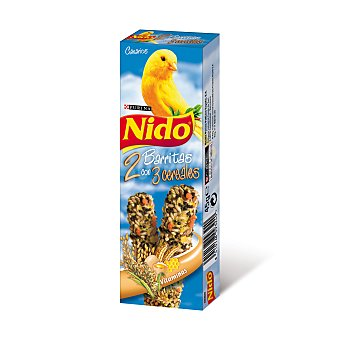 Nido Purina Barrita de huevo canario Caja 45 g