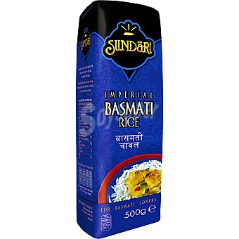 Sundari Arroz basmati imperial Paquete 500 g