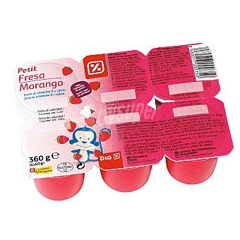 DIA Petit suisse fresa Pack 6 unidades 60 g