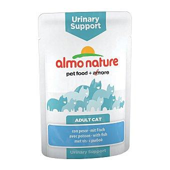 Almo Nature Alimento húmedo para gatos adultos urinary support con pescado Envase 70 g
