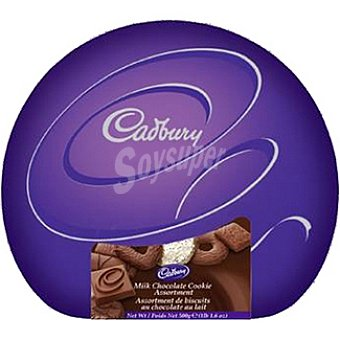 Cadbury Galletas surtidas Milk & Dark Lata 500 g