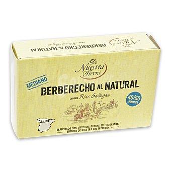 De nuestra tierra Berberecho al natural 40/50 63 g