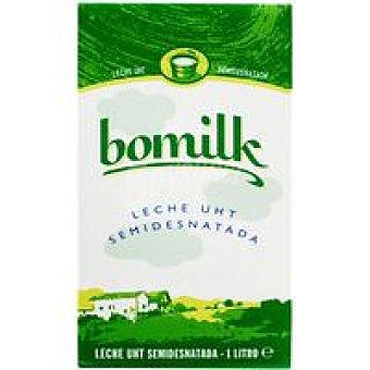 Bomilk Leche Semidesnatada Brik 1 litro