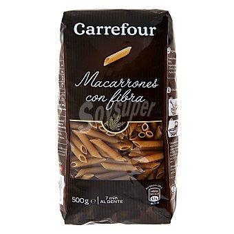 Carrefour Macarrones integrales 500 g