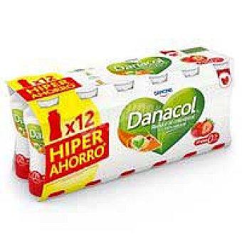 Danacol Danone Beber fresa 12 x 100 g