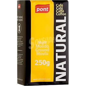Pont Café molido natural Paquete 250 g