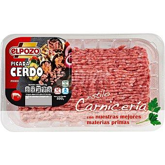 ElPozo Carne picada de cerdo sin gluten Bandeja 400 g