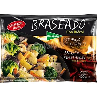 El Corte Inglés Braseado de verduras asadas con brócoli Bolsa 400 g