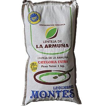 Montes Lentejas extra Armuña I. G. P. Saco 1 kg