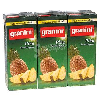 Granini Néctar de piña Pack 3x20 cl