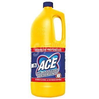 Ace Lejía blanqueador con detergente hogar Botella 2 l