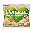 Yogur líquido con avena, sin azúcares y que ayuda a controlar el colesterol 6 x 100 g Danacol Danone