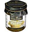 Queso de cabra en aceite de oliva virgen extra sin gluten 2 piezas Tarro 80 g Los balanchares