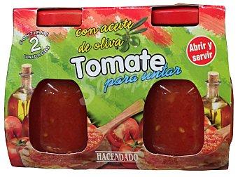 Hacendado Tomate untar Tarro pack 2 -320 g