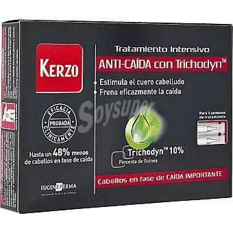 KERZO tratamiento intensivo anticaída con Trichodyn en ampollas caja 14 unidades