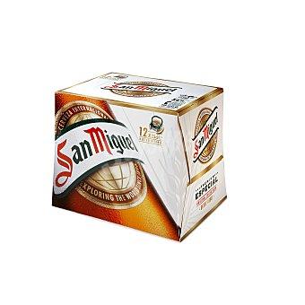 San Miguel Cerveza Pack 12 u x 25 cl (300 cl)