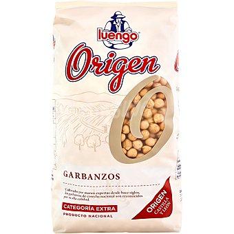 Luengo origen garbanzos categoría extra paquete 1 kg