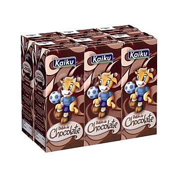 Kaiku Batido de chocolate Pack de 6x200 ml
