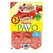 Chorizo de pavo lonchas Envase 80 gr ElPozo