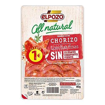 ElPozo Chorizo All Natural 80G