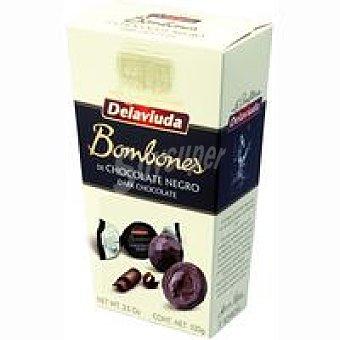 Delaviuda Bombón de chocolate negro Caja 100 g