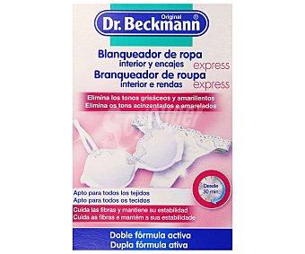 Dr. Beckmann Blanqueador de ropa interior y encajes 150 g