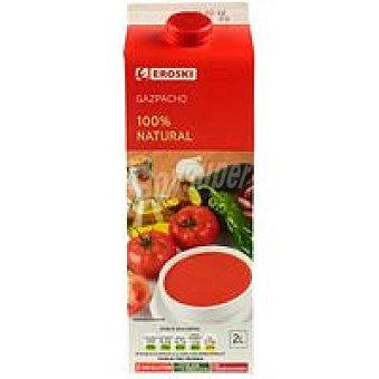 EROSKI Restauralia Gazpacho natural Brik 2 litros