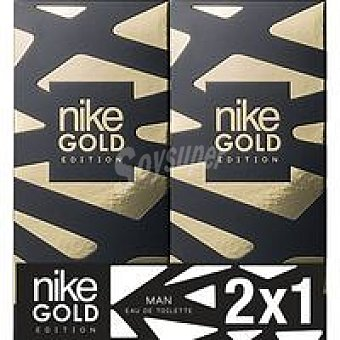 Nike Colonia para hombre Gold Pack 2x100 ml